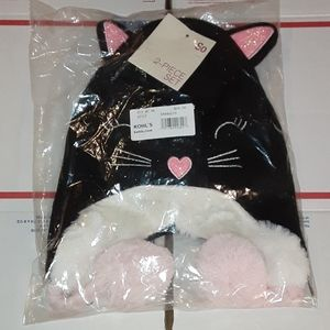 Hat And Glove Set Size M/L New